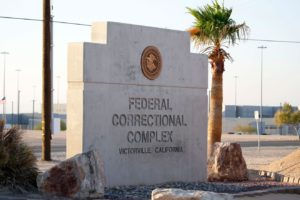 This is the tough US prison where Dance Moms star Abby Lee Miller will start serving her sentence today (July 12). The 50-year-old reality TV star will reportedly enter FCI Victorville federal prison in California. on July 12, In June 2016 the former dance instructor was sentenced to one year and a day after being found guilty of not reporting an international monetary transaction and one count of concealing bankruptcy assets. 12 Jul 2017 Pictured: Victorville Prison. Photo credit: CJT / MEGA TheMegaAgency.com +1 888 505 6342 (Mega Agency TagID: MEGA53826_001.jpg) [Photo via Mega Agency]